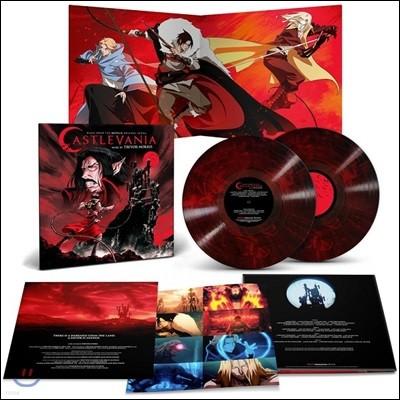 넷플릭스 애니메이션 `캐슬배니아` 음악 (Castlevania OST by Trevor Morris) [밸몬트 블러드 레드 & 블랙 컬러 2LP]