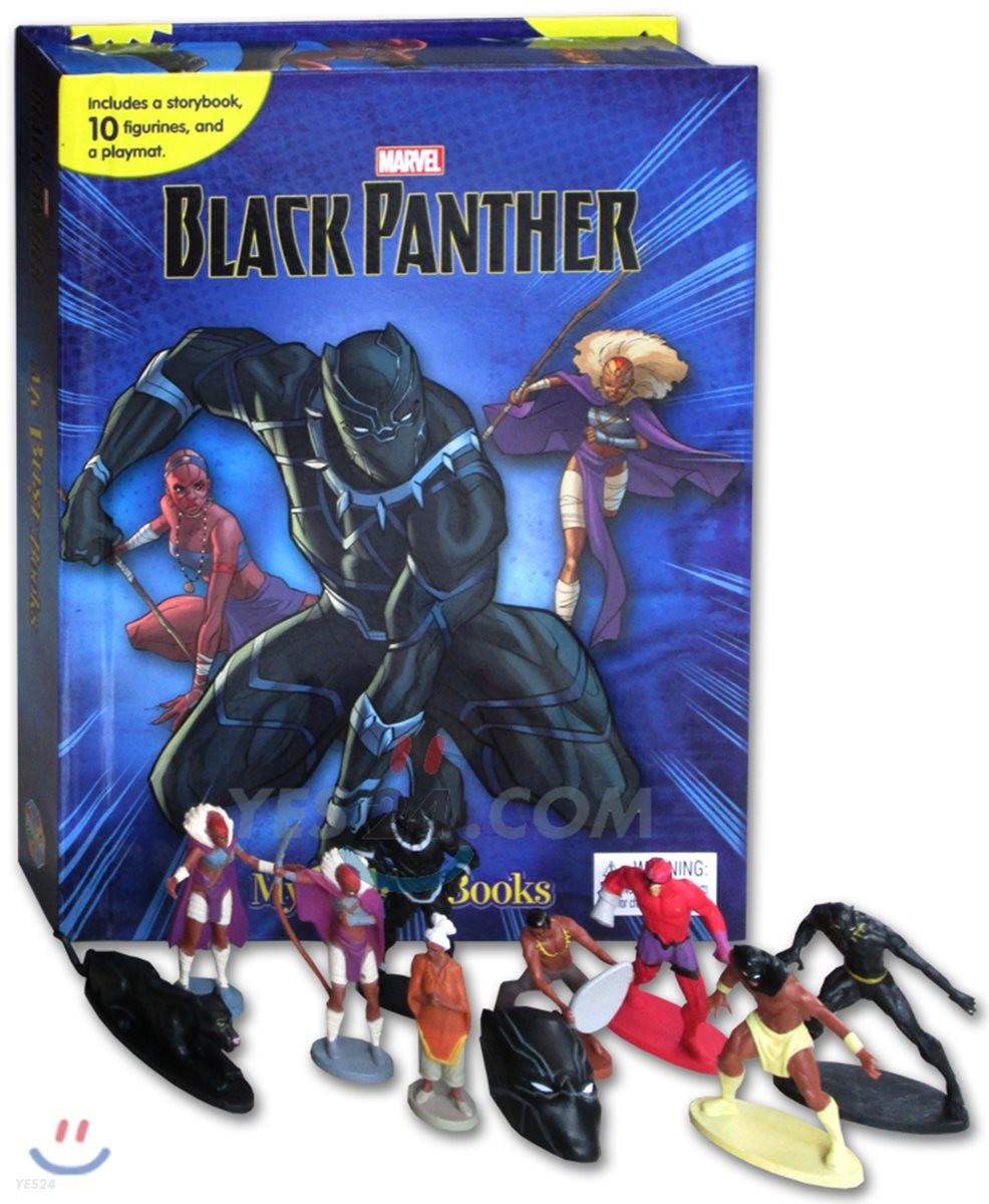 Marvel Black Panther My Busy Books 마블 블랙 팬서 비지북