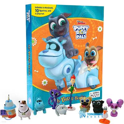 Disney Jr. Puppy Dog Pals My Busy Books 디즈니 주니어 퍼피독 친구들 비지북