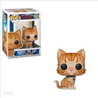 Funko - (펀코)Funko Pop! Marvel: Captain Marvel - Goose The Cat (캡틴 마블)
