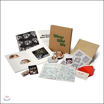 Paul Mccartney & Wings (폴 매카트니 앤 윙즈) - Wild Life (Super Deluxe Edition) [3CD+DVD]