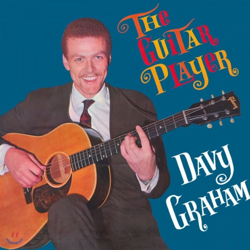 Davy Graham (데이비 그레이엄) - The guitar player [LP]