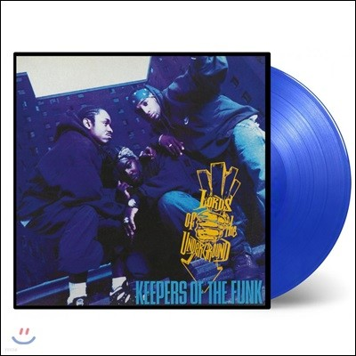 Lords Of The Underground (로드 오브 더 언더그라운드) - Keepers Of The Funk [투명 블루 컬러 2LP]
