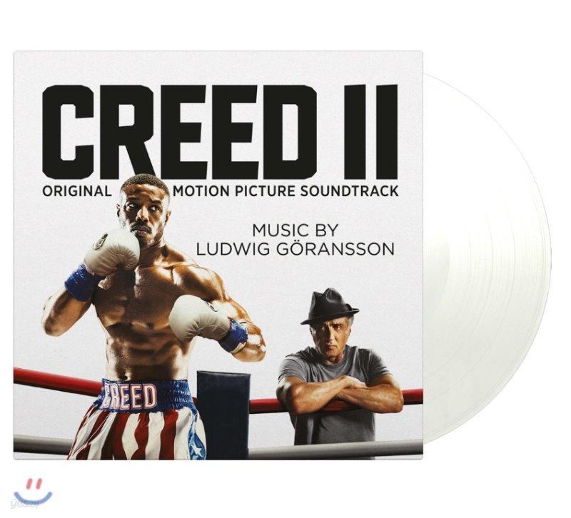 크리드 2 드라마음악 (Creed ll OST by Ludwig Goransson) [화이트 컬러 LP]