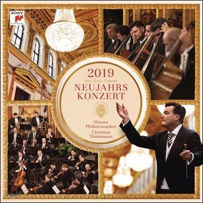 Christian Thielemann 2019 빈 신년음악회 (New Year's Concert 2019) [3LP]