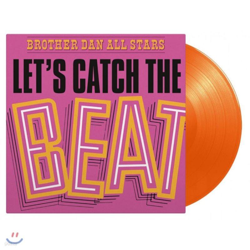 Brother Dan All Stars (브라더 댄 올 스타스) - Let's Catch The Beat [오렌지 컬러 LP]