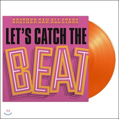 Brother Dan All Stars (브라더 댄 올 스타스) - Let's Catch The Beat [오렌지 컬러 LP]