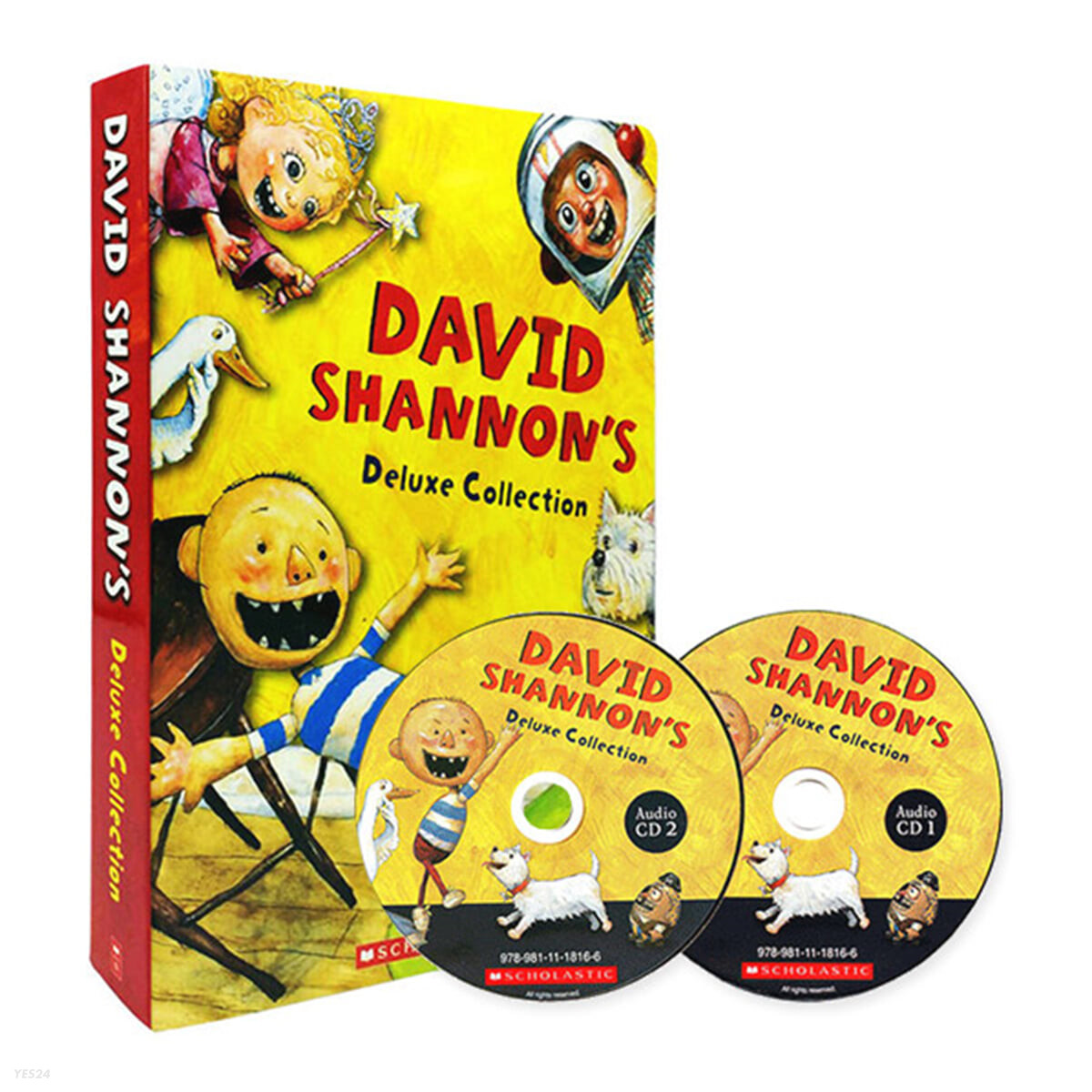 David Shannon Deluxe Collection (10 Books & CD)