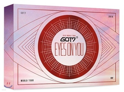 갓세븐 (GOT7) - GOT7 2018 World Tour 'Eyes On You' DVD