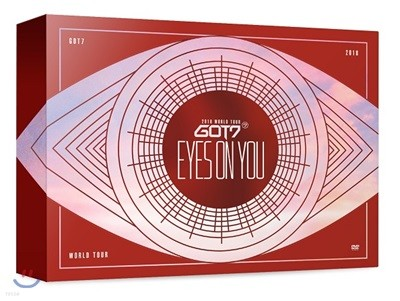 갓세븐 (GOT7) - GOT7 2018 World Tour 'Eyes On You' Blu-ray