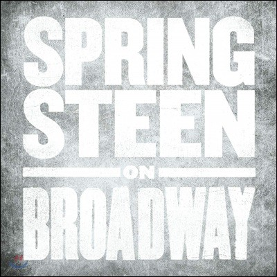 Bruce Springsteen (브루스 스프링스틴) - Springsteen On Broadway [4LP]