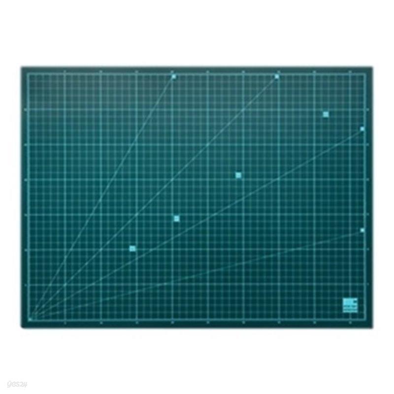 윈스타 녹색고무판/데스크매트 [중] DM203 / 500*380