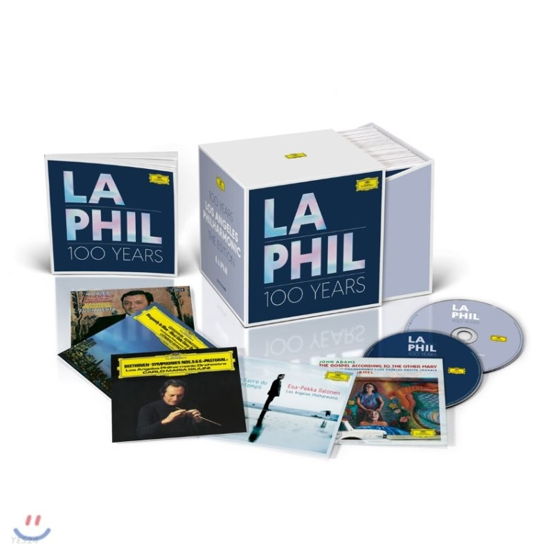 LA 필하모닉 100주년 기념 컴필레이션 (Celebrating the Centenary of LA Phil 100 Years) [32CD+3DVD]