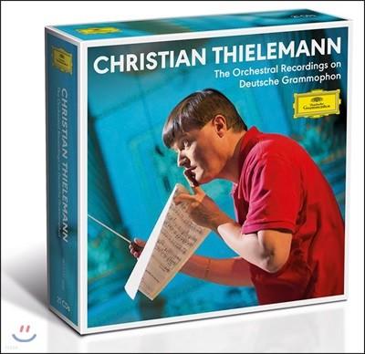 크리스티안 틸레만 DG 관현악 전집 (Christian Thielemann - The Complete Orchestral Recordings on DG)