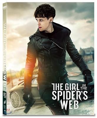 거미줄에 걸린 소녀 (2Disc 4K UHD + BD 스틸북 렌티큘러 오링케이스 넘버링 한정판) : 블루레이