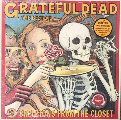 Grateful Dead (그레이트풀 데드) - Skeletons From The Closet : The Best Of [화이트 컬러 LP]