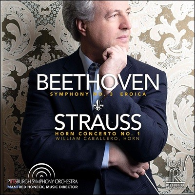 Manfred Honeck 베토벤: 교향곡 3번 / R. 슈트라우스: 호른 협주곡 1번 (Beethoven: Symphony Op. 55 / R. Strauss: Horn Concerto Op. 11)