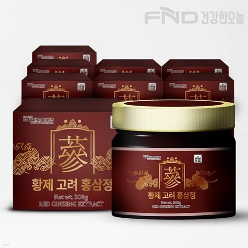 FND 삼성제약 황제 고려 홍삼정 300g X  8박스
