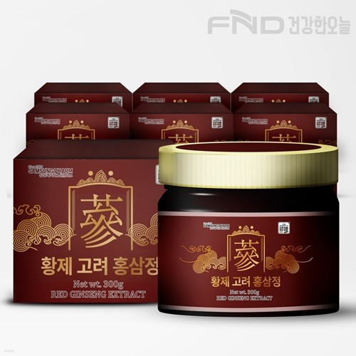FND 삼성제약 황제 고려 홍삼정 300g X  7박스