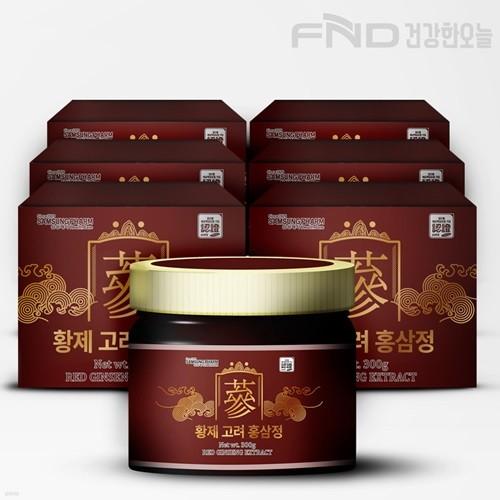 FND 삼성제약 황제 고려 홍삼정 300g X  6박스