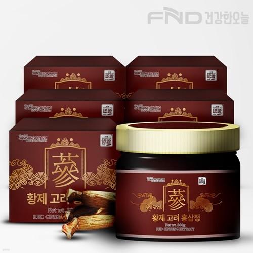 FND 삼성제약 황제 고려 홍삼정 300g X  5박스