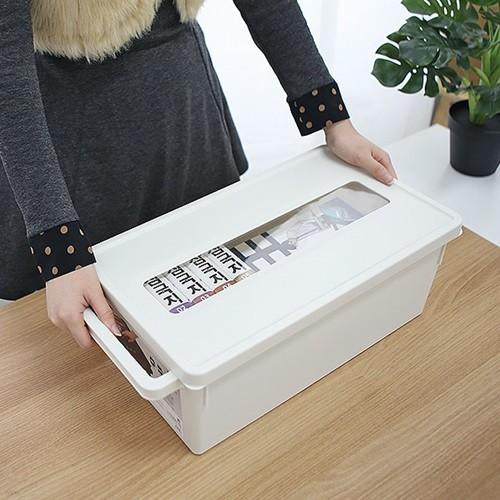 일본생산 공간활용 소품정리 컨테이너 리빙박스 ...