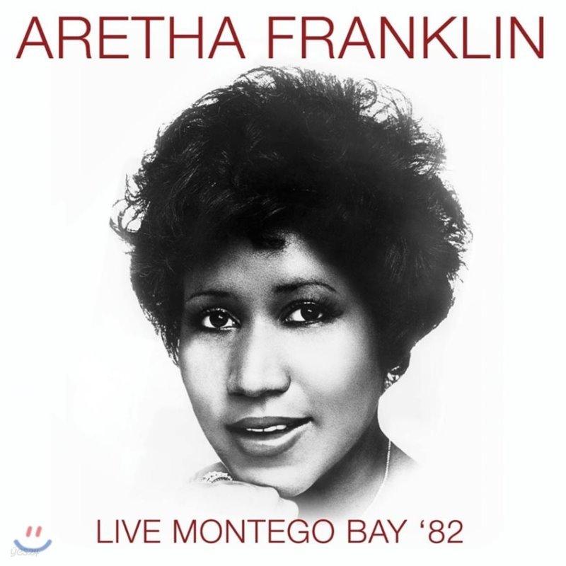 Aretha Franklin (아레사 프랭클린) - Live Montego Bay '82 [LP]