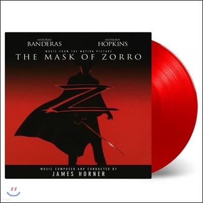 마스크 오브 조로 영화음악 (The Mask of Zorro OST by James Horner) [솔리드 레드 컬러 2LP]