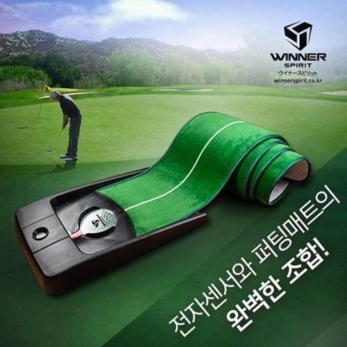 위너스피릿 미라클 580 오토리턴 골프 퍼팅 연습...