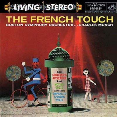 프랑스 관현악 작품집 (The French Touch) (200g)(LP) - Charles Munch