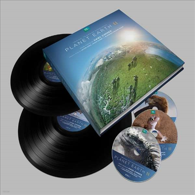 O.S.T. - Planet Earth II (플래닛 어스 II) (Soundtrack)(Ltd. Deluxe Ed)(180G)(2LP+3CD Boxset)