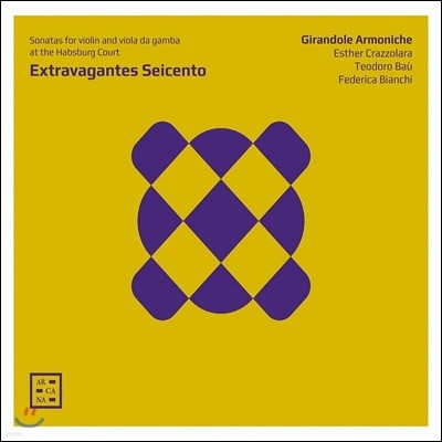 Girandole Armoniche 17세기 합스부르크 궁정 음악 모음집 (Extravagantes Seicento)