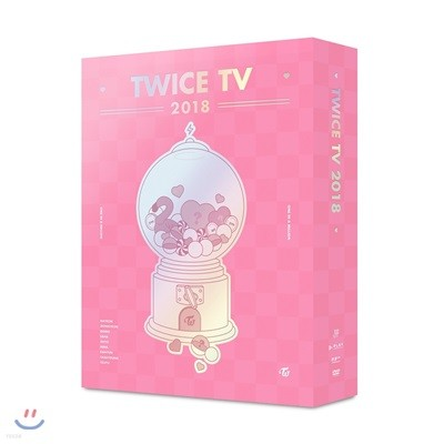 트와이스 (TWICE) - TWICE TV 2018 DVD