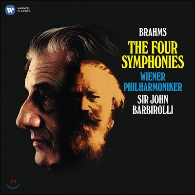 John Barbirolli 브람스: 교향곡 전곡 (Brahms: Four Symphonies) [4LP 박스세트]