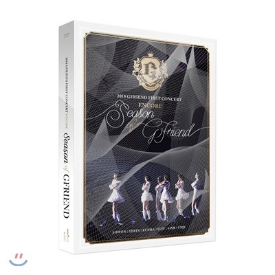 여자친구 (G-Friend) - 2018 GFRIEND FIRST CONCERT [Season of GFRIEND] ENCORE Blu-ray