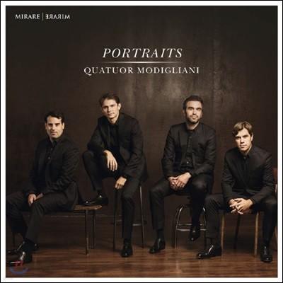 Quatuor Modigliani 모딜리아니 사중주단의 포트레이트 (Portraits)
