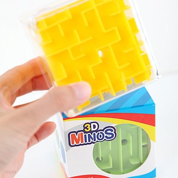 조이매스 3D 미노스 큐브 퍼즐게임 / 3세이상 1인 구슬미로
