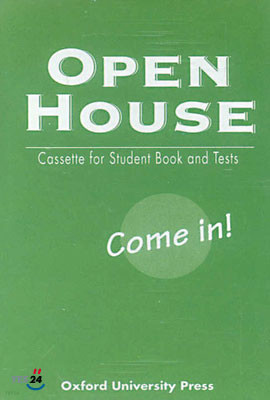 Open House Come In! : Cassette