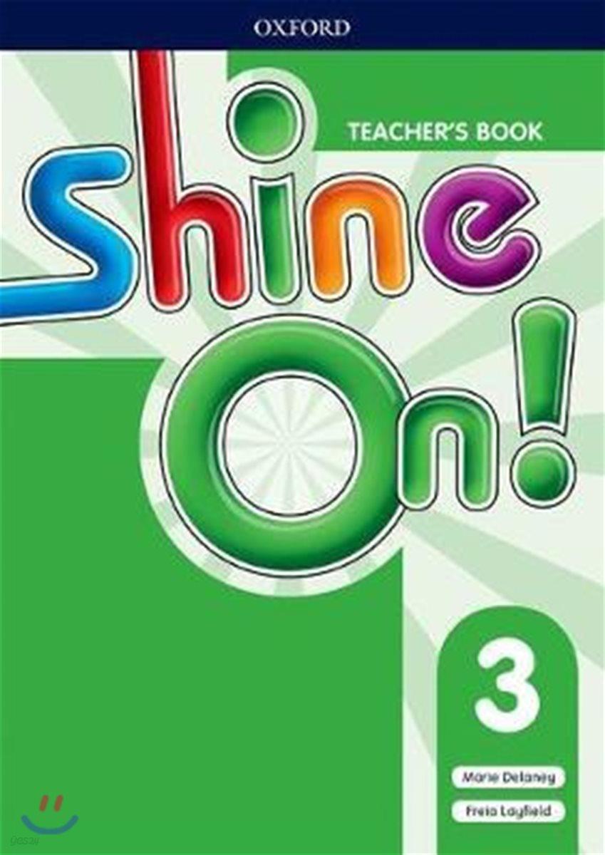 SHINE ON 3 Teacher's Book (with Audio CD)