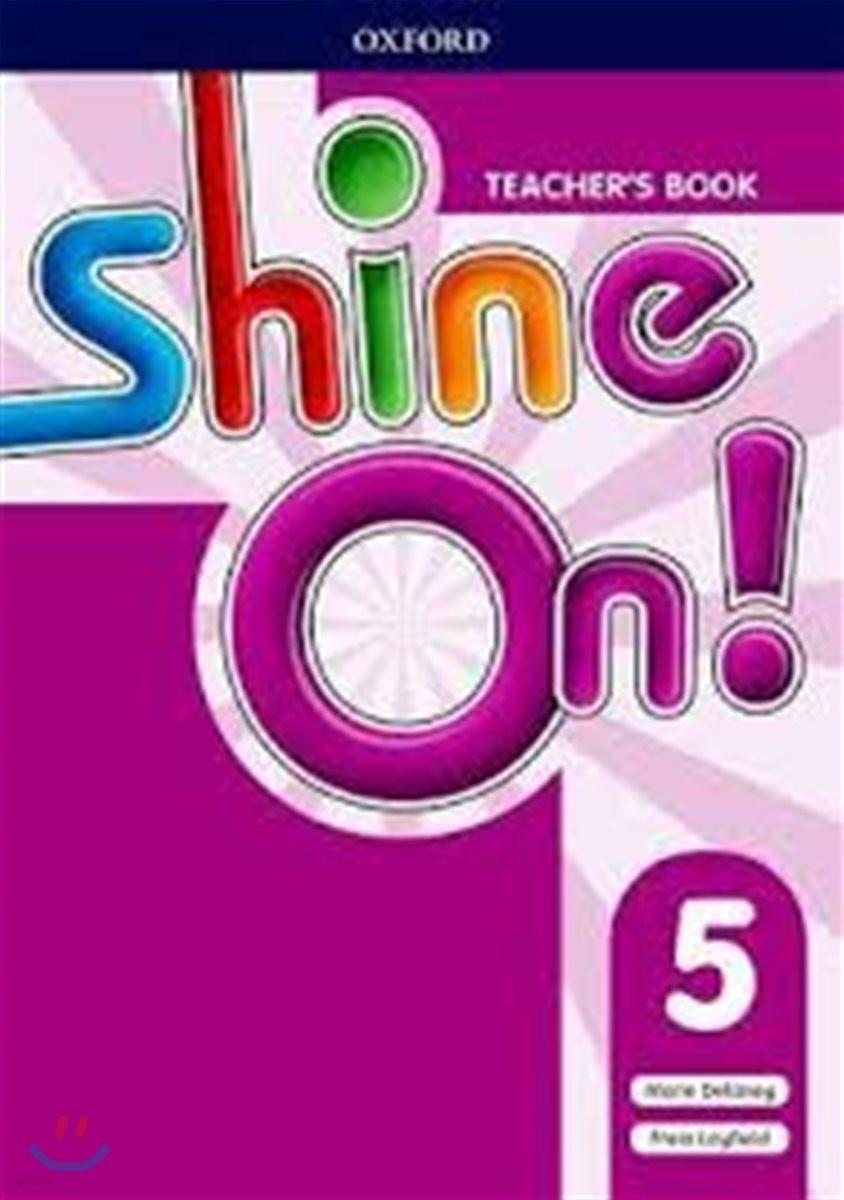 SHINE ON 5 Teacher's Book (with Audio CD)