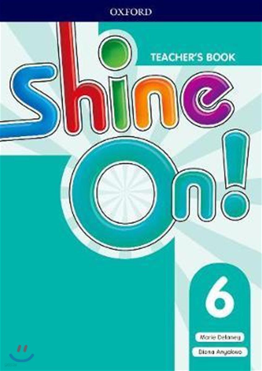 SHINE ON 6 Teacher's Book (with Audio CD)