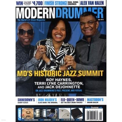 Modern Drummer (월간) : 2012년 06월