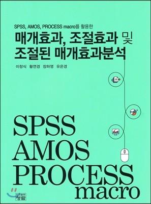 SPSS, AMOS, PROCESS macro를 활용한 매개효과, 조절효과 및 조절된 매개효과분석