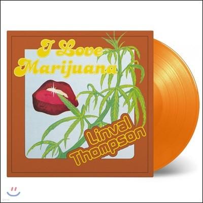 Linval Thompson (린벌 톰슨) - I Love Marijuana [오렌지 컬러 LP]