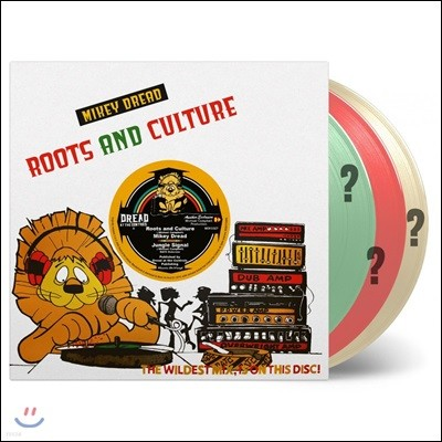 Mikey Dread (마이키 드레드) - Roots and Culture [10인치 컬러 LP]