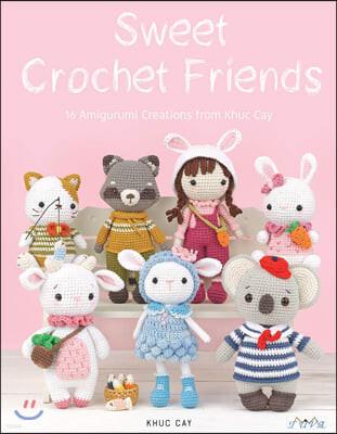 Khuc Cay's Tiny Hands: 16 Crochet Amigurumi Designs