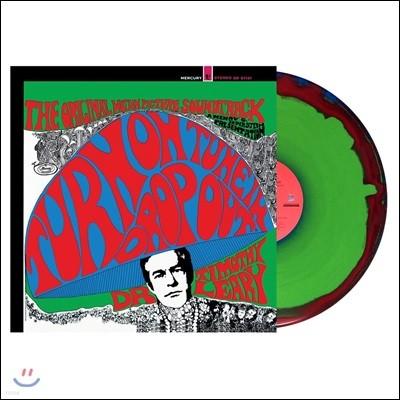 턴 온, 튠 인, 드랍 아웃 영화음악 (Turn On, Tune In, Drop Out OST by Timothy Leary) [레드 & 블루 & 그린 컬러 LP]