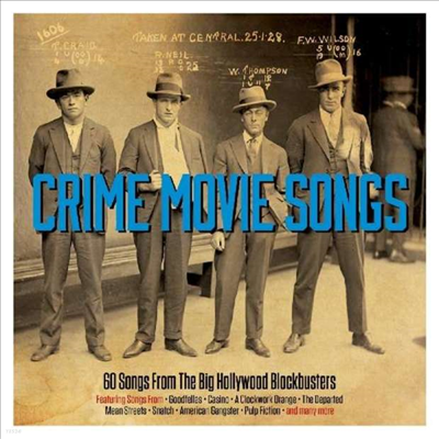 Various Artists - Crime Movie Songs - 60 Songs From Big Hollywood Blockbusters (3CD)