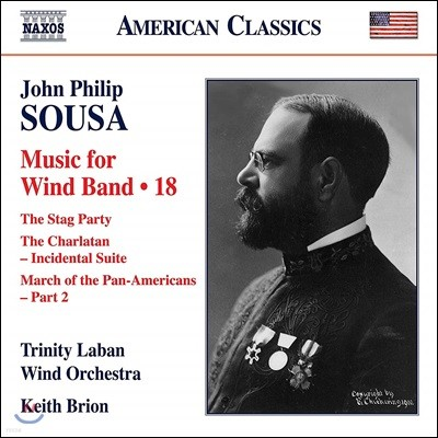 Trinity Laban Wind Orchestra 존 필립 수자: 관악 밴드를 위한 작품 18집 (John Philip Sousa: Music For Wind Band Music 18)