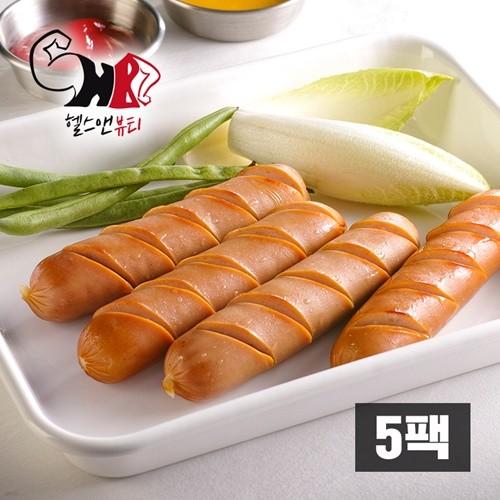 [헬스앤뷰티] 닭가슴살 소시지 불갈비향 5팩